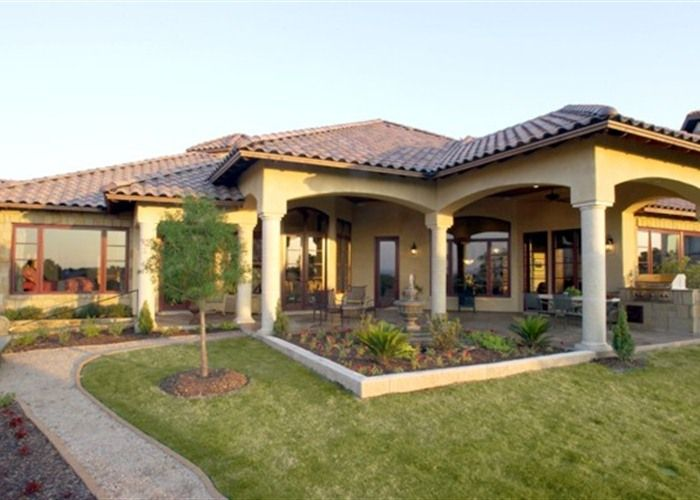 Single Story Tuscan Style Homes Google Search Tuscan Style Homes Tuscan Style Custom Home Builders