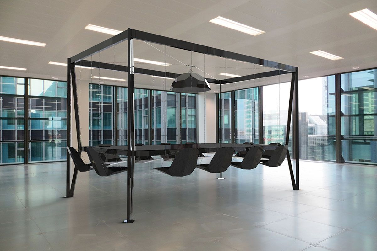 Swing Table Duffy London With Images 12 Seat Dining Table