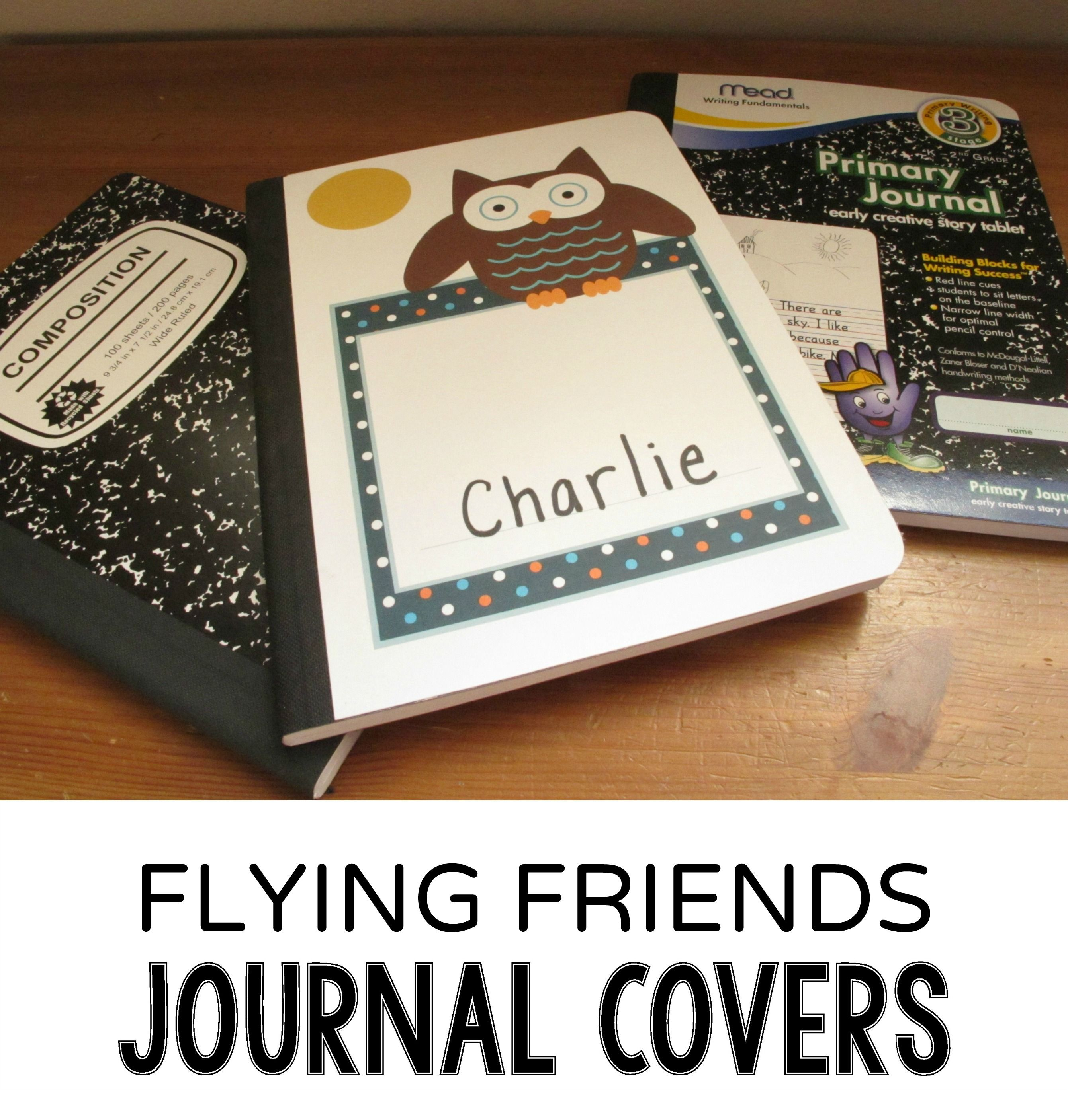 Free Printable Owl And Bird Journal Covers Sized To Fit