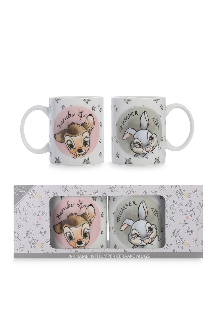 Bettwäsche Bambi Disney Bambi 2pk Mugs Разное In 2019 Disney Mugs Disney Home
