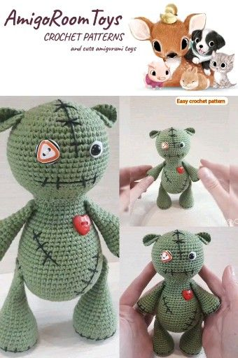 Photo of VOODOO DOLL – EINFACHES CROCHET-MUSTER