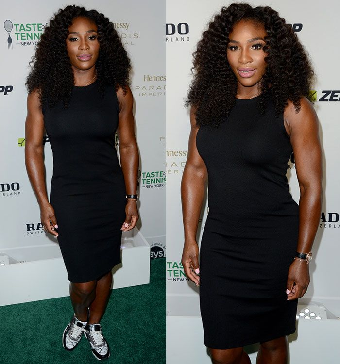 """Serena Williams Wears NikeCourt Air Max 1 Ultra from Her """"Greatness  Collection"""" at 2015"""