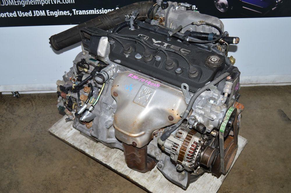 Jdm F23a 98 02 Honda Accord 2 3l 4 Cyl Vtec F23a Engine And