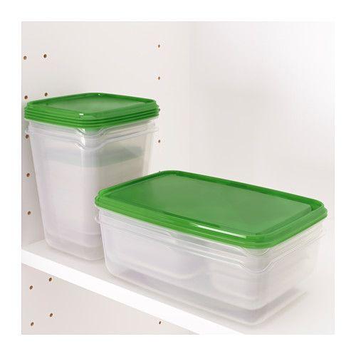 Erkunde Lebensmittel Behälter, Portionen Und Noch Mehr!