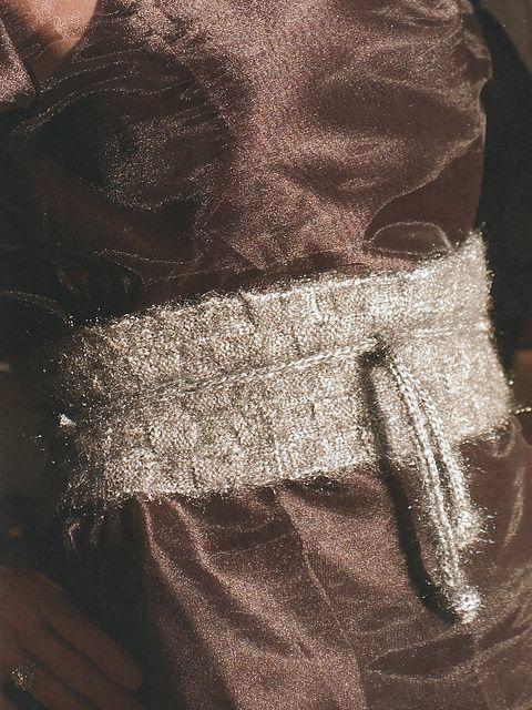 Ravelry Obi Pattern By Jil Eaton Beautiful Knit Belt Pattern Not