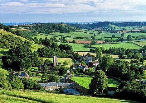 Somerset has a great deal more to offer than the glastonbury old england the picturesque village of corton denham nestling in rolling countryside near yeovil sciox Image collections