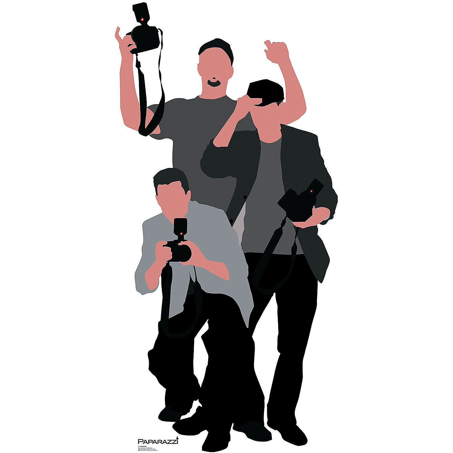 Paparazzi Stand-Up - OrientalTrading.com