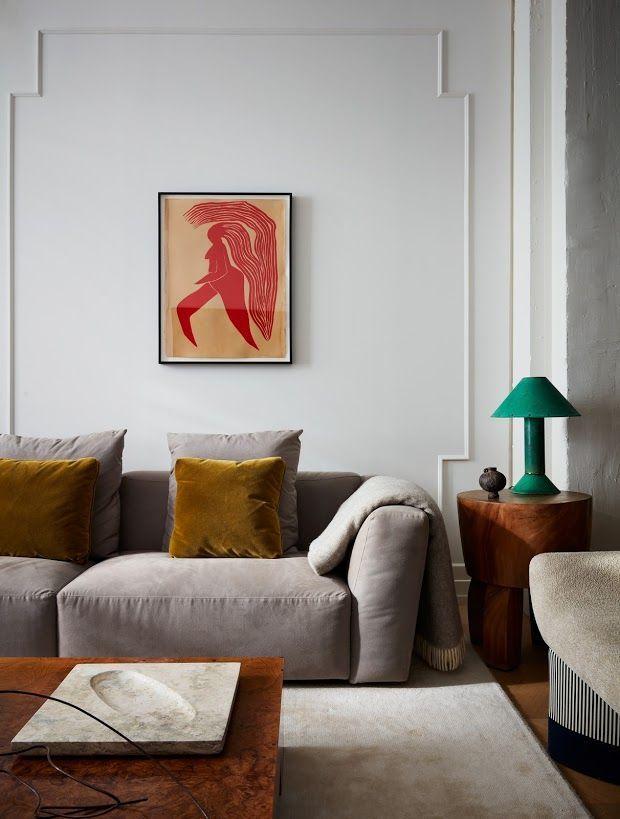 Charming Blue Apartment Design With Stunning Details   Unique Blog