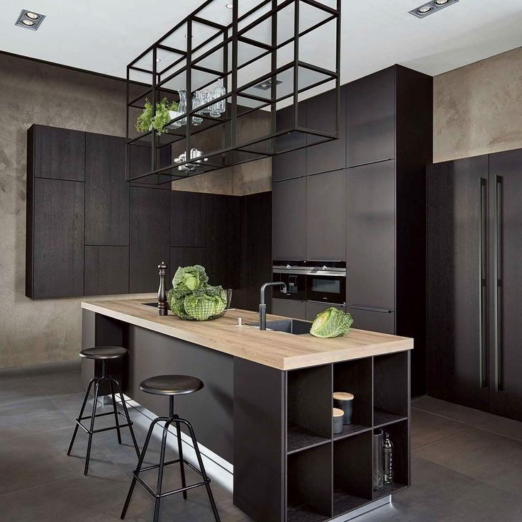 Learn Kitchen Design: Learn More About How To Give An Industrial Style To Your
