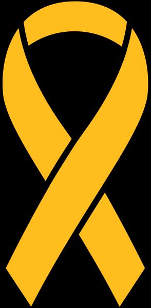 Yellow Ribbon Sticker Icon2 Vector Data Yellow Ribbon Light Blue Ribbon Red Ribbon