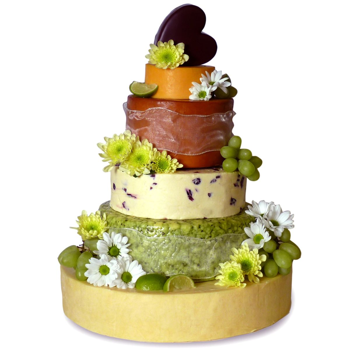 The Dorchester 6-Tier Cheese Celebration Cake, 15kg (Serves 150-200 ...