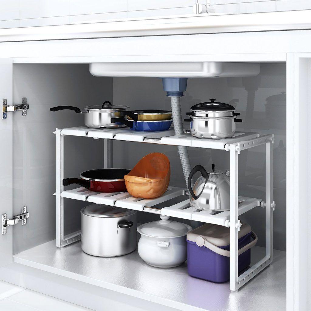 É una società italiana specializzata nella produzione di articoli destinati alle industrie di mobili d'arredamento, di cucina in particolare. Accessori Per Organizzare I Mobili In Cucina 15 Idee Da Vedere Kitchen Rack Kitchen Organization Under Kitchen Sink Organization