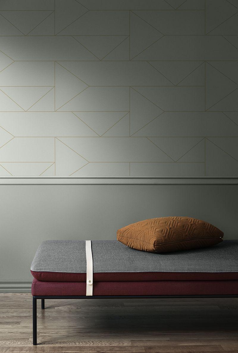 Couleurs Salon Vert Passe Bordeaux Ocre Decoration Maison Decoration Interieure Mobilier De Salon