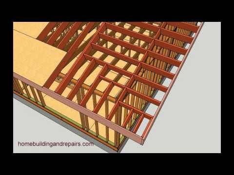 How To Make Gable Roof Overhang Longer - Engineering and Framing Ideas - YouTube