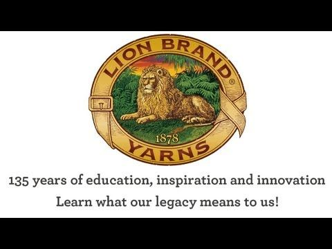 It's Lion Brand's 135th anniversary this year--learn more about America's oldest hand-knitting yarn brand.