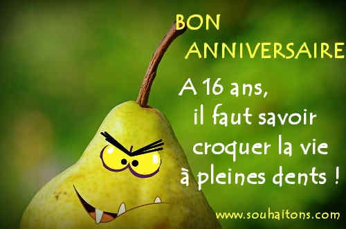 Sms Bon Anniversaire 16 Ans Et Modeles De Message De Souhaits Pour L