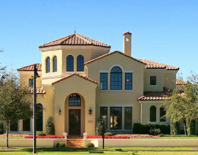 Montecito plan, Mediterranean Villa style at 6-7,000 SF ...