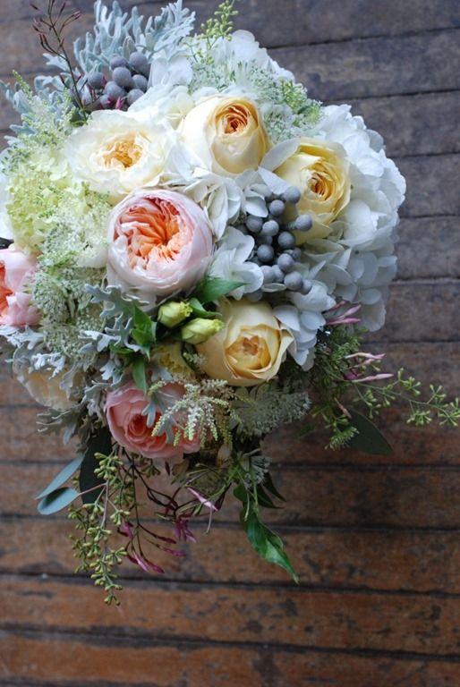 Florésie ❀ Mariage de saison ❀ La rose de jardin de septembre ...
