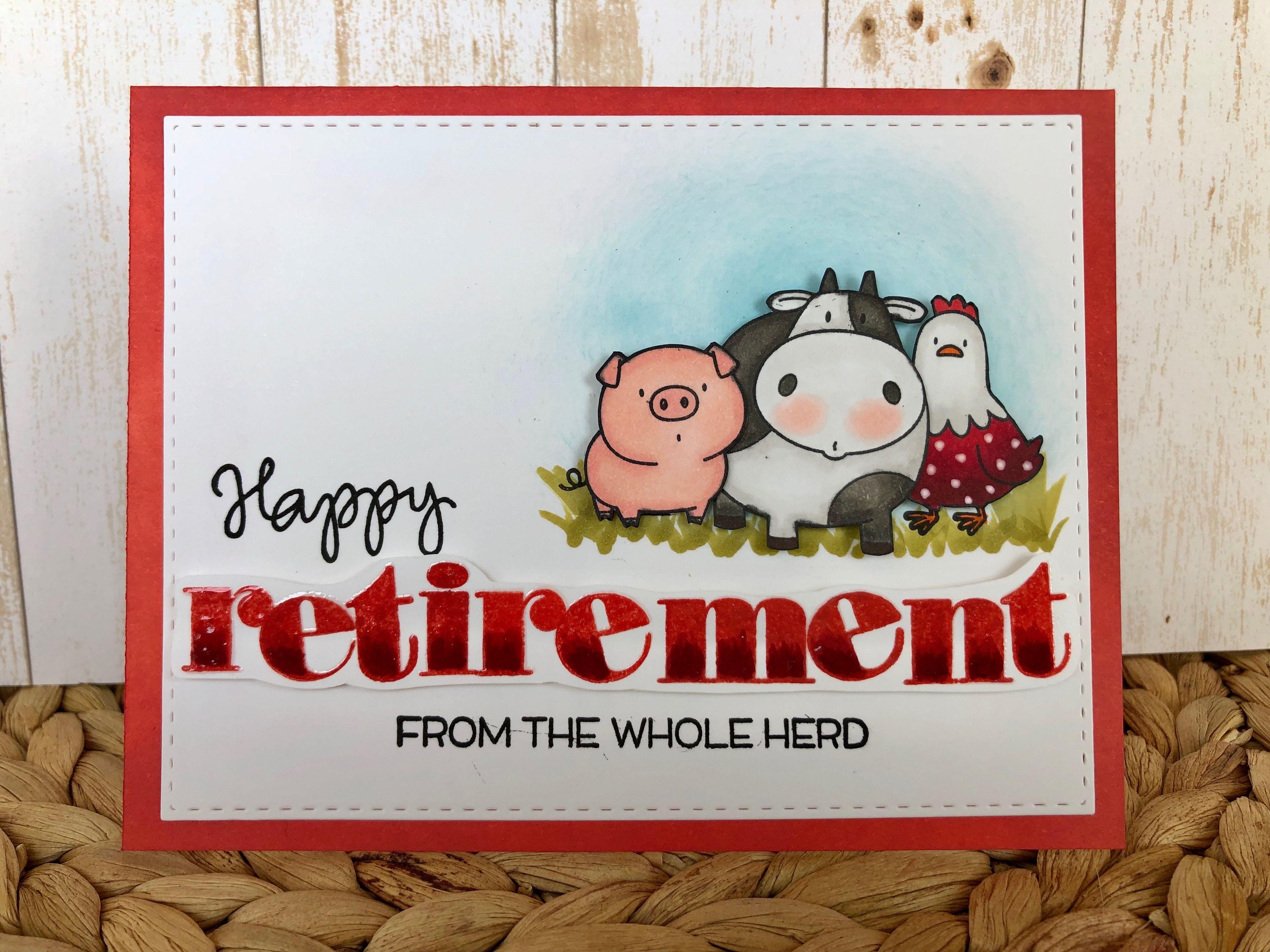 pinbarbara tarayao on card ideas  retirement cards