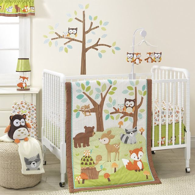 Such A Cute Set For Forest Animal Woodland Nature Theme Baby Nursery
