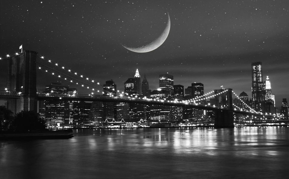 New York Black And White Hd Wallpaper Wallpapers New