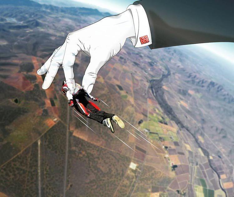 saut en parachute ecosse