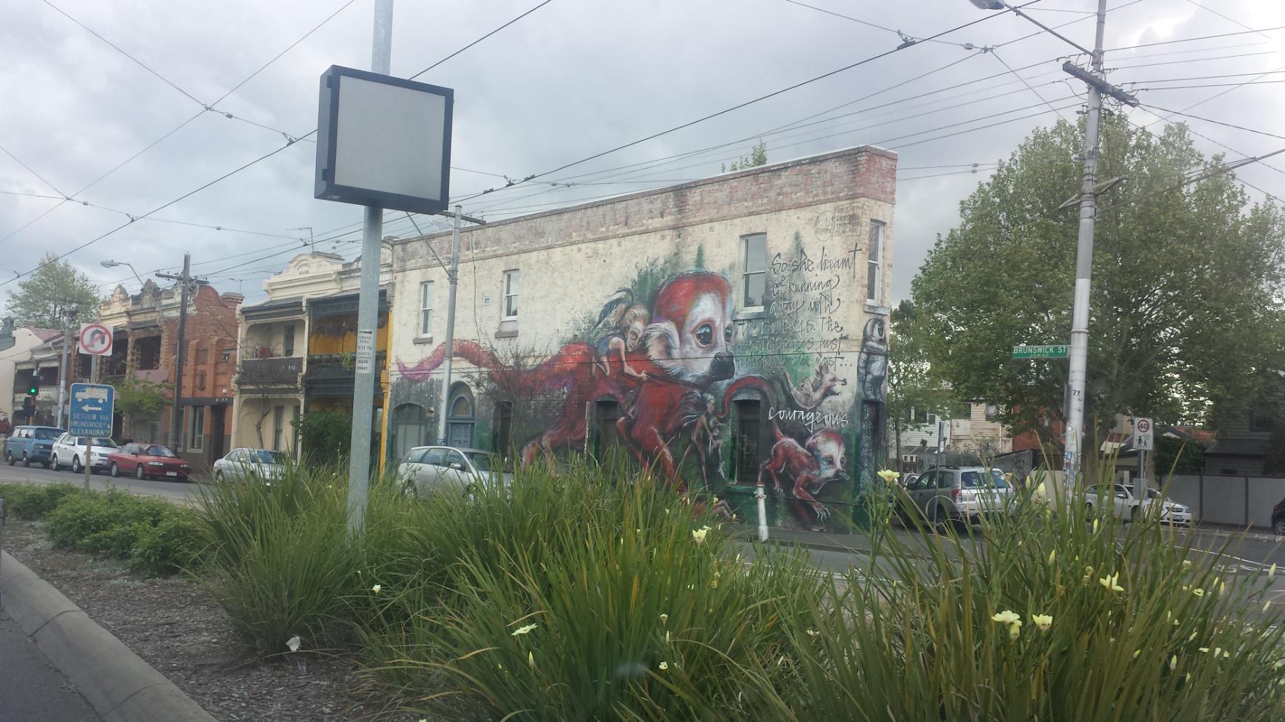 Brunswick Street meets St.Georges Road North Fitzroy