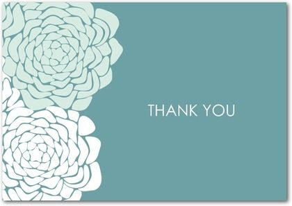Thank You Notes by Wedding Paper Divas
