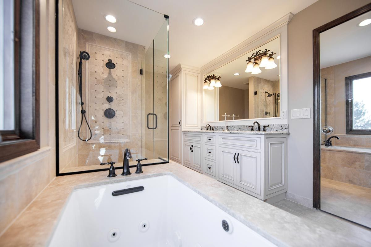 Kitchen And Bathroom Remodeling In Chicago Linly Designs Kitchen Bathroom Remodel Bathroom Remodel Designs Bathrooms Remodel