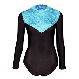 Dance or Gymnastics Leotard Starlite Crushed Velvet Toto Leotard
