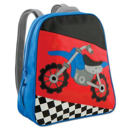 Vinyl Stephen Joseph Motocross Backpack Diaperbag
