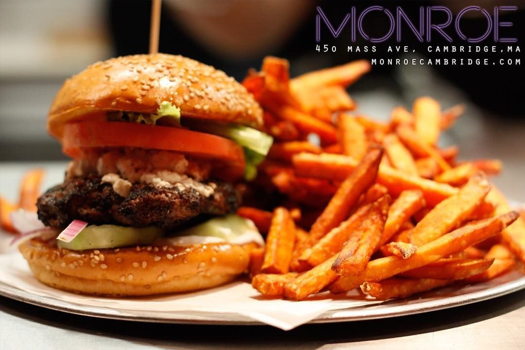 Monroe Restaurant On Instagram Try Out Chef S Burger Lunch Special Today 10 For A Burger Fri Healthy Eating Recipes Healthy Eating Meal Plan Halal Recipes