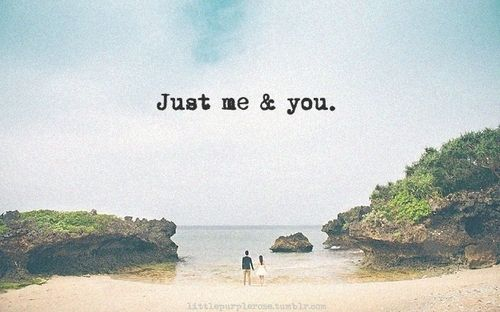 i just need you.