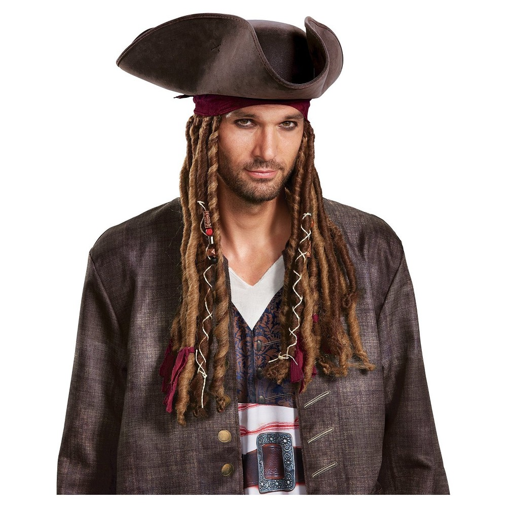 Adult Pirates of the Caribbean Goatee /& Mustache