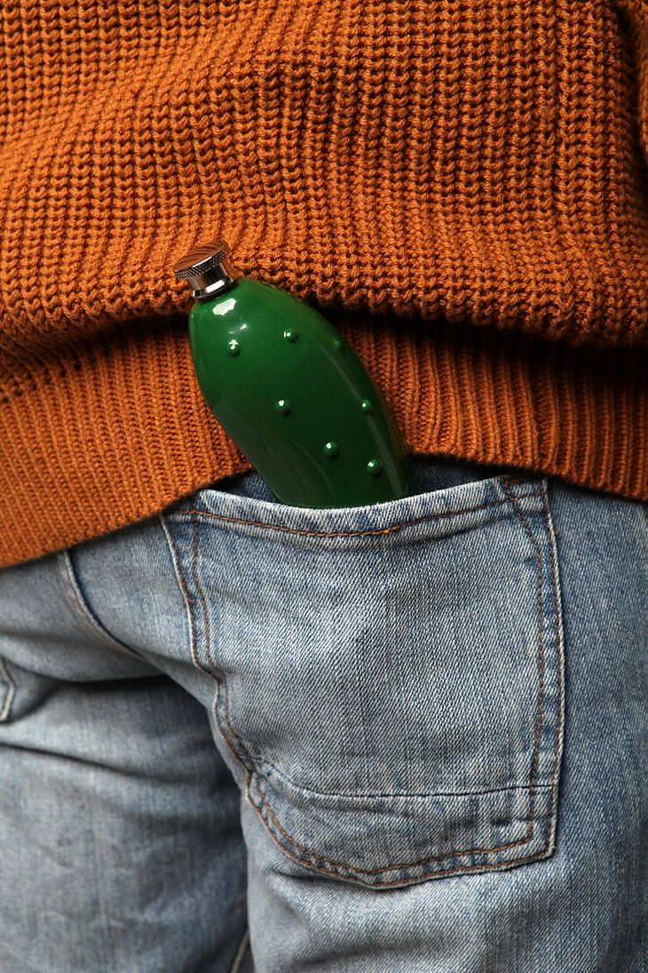Pickle Flask | The Fun Stuff | Pickles, Flask, Urban outfitters