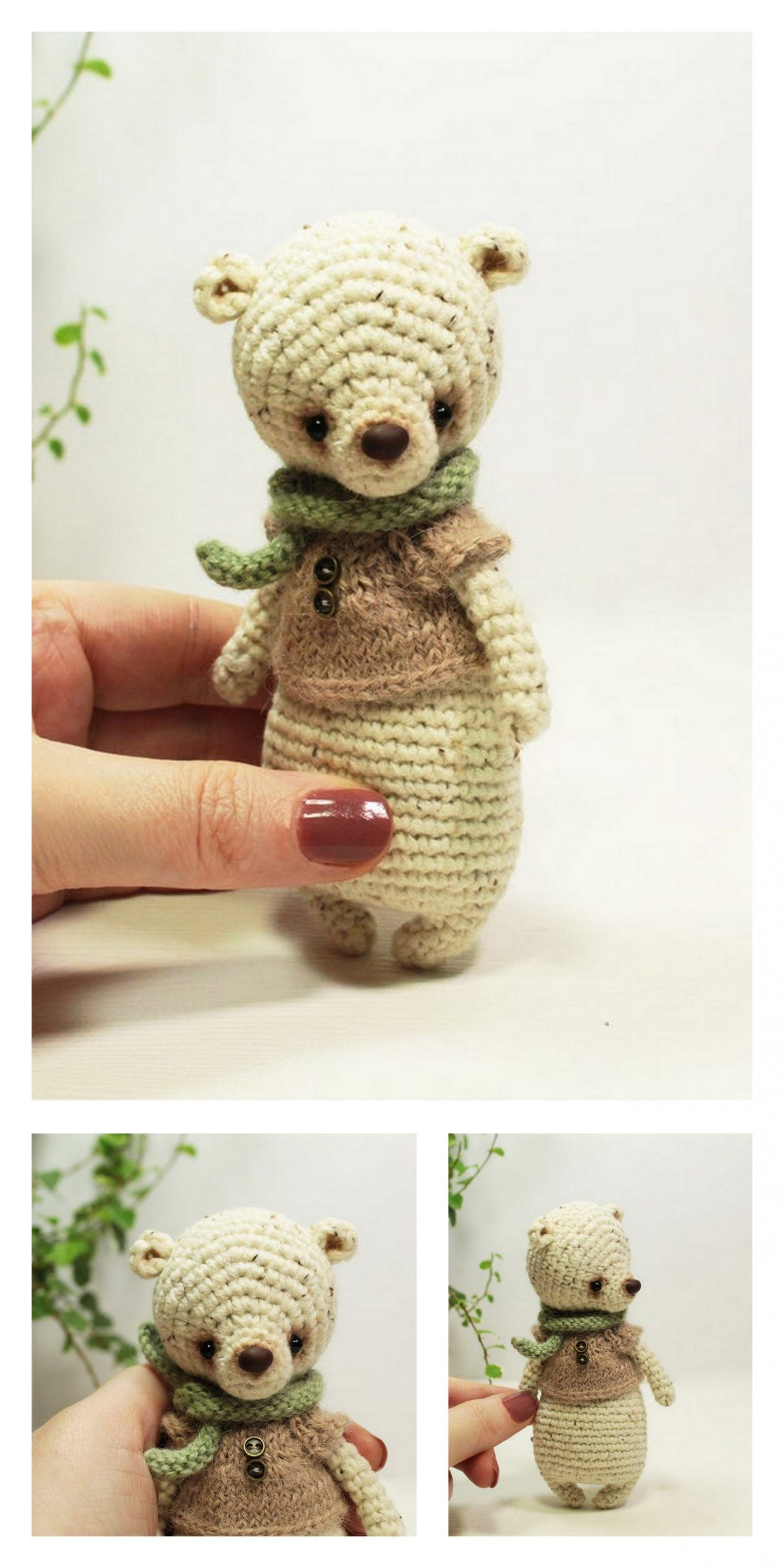Cuddle Me Bear amigurumi pattern - Amigurumi Today | 2436x1218
