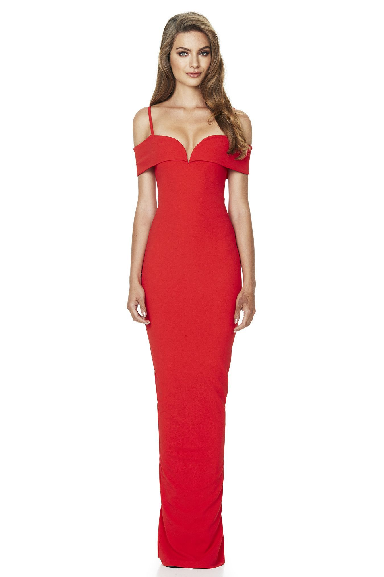 Pretty Woman Gown - Red [Pre order] | Cherries, Gowns and Women\'s