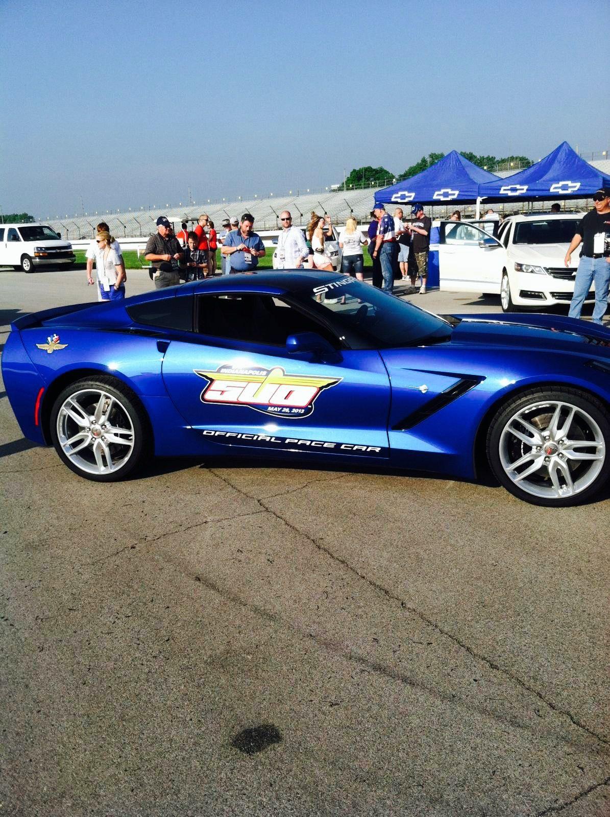 Corvette Pace Car Indianapolis 500 Corvette Stingray Corvette