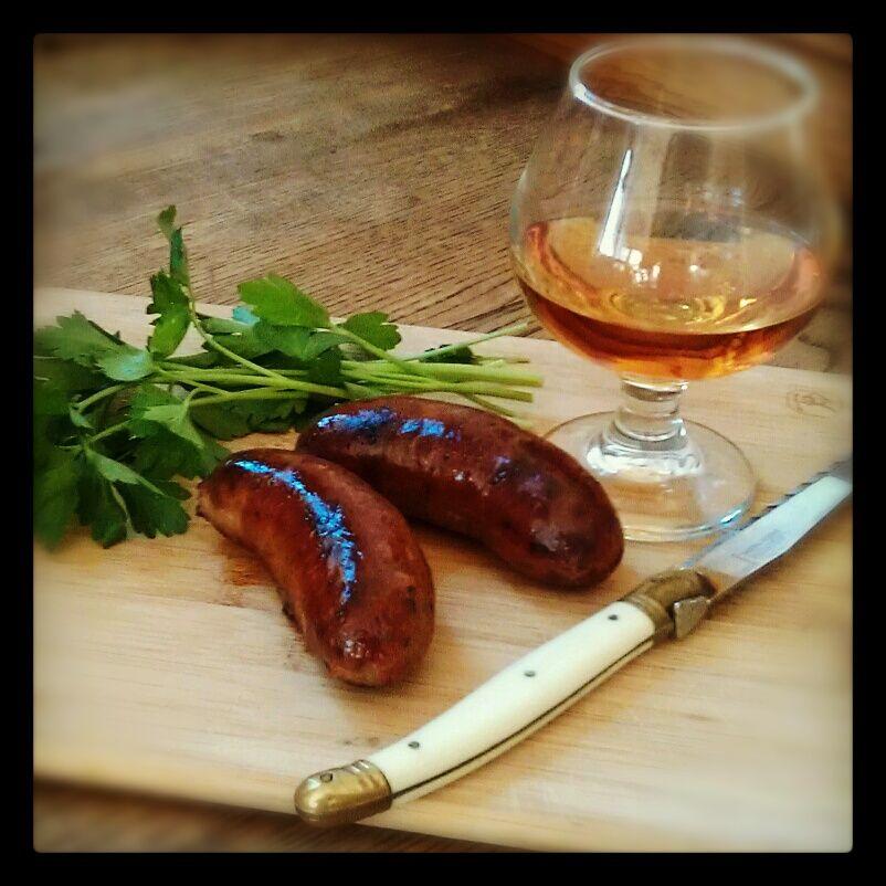 Bacon Sausage & Whiskey