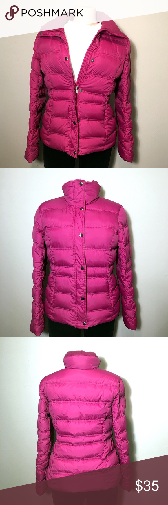 Land S End Pink Puffer Jacket B9 Clothes Design Jackets Puffer Jackets [ 1740 x 580 Pixel ]