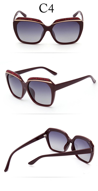 Aliexpress.com : Buy 2016 Oversized Polarized Sunglasses Women ...