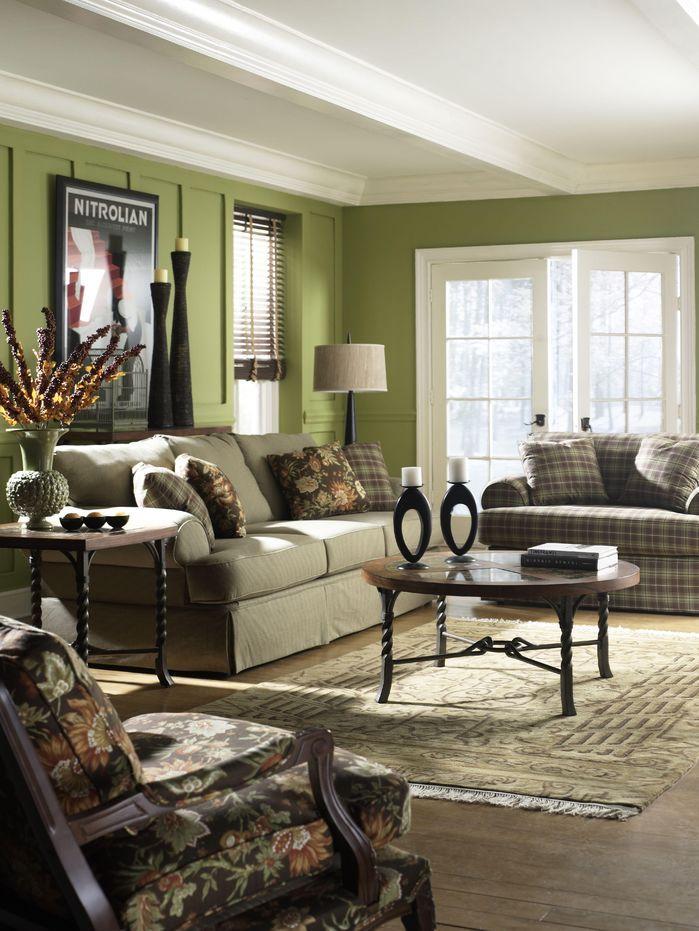 Living Room, Rustic Photos, Design Ideas, Pictures & Inspiration   Wayfair   Traditional design ...