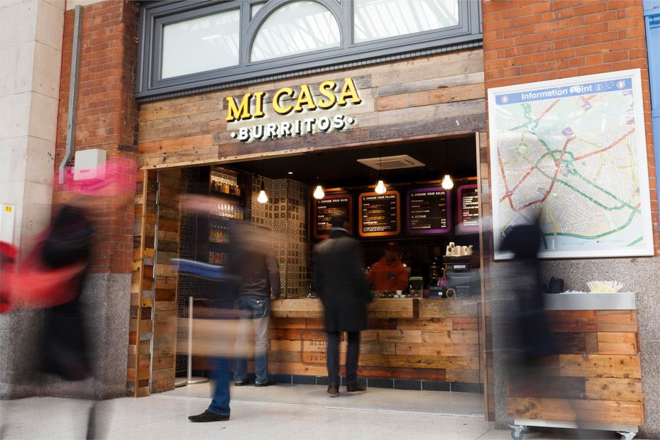 Mi Casa Burritos is a new Mexican street foodinspired