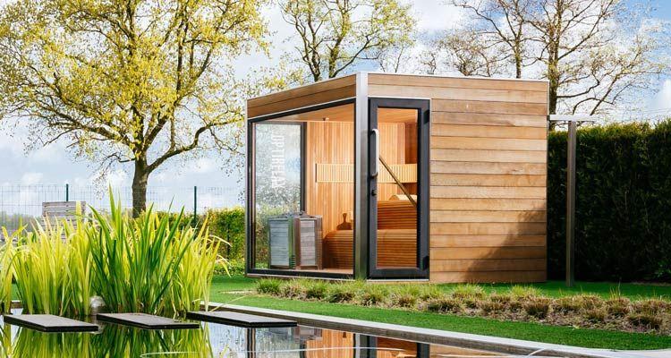 Gartensauna Mit Dusche. sauna mit integrierter dusche m ...