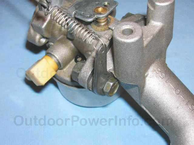 Tecumseh Series 11 Carb - Governor adjustment lever | Small