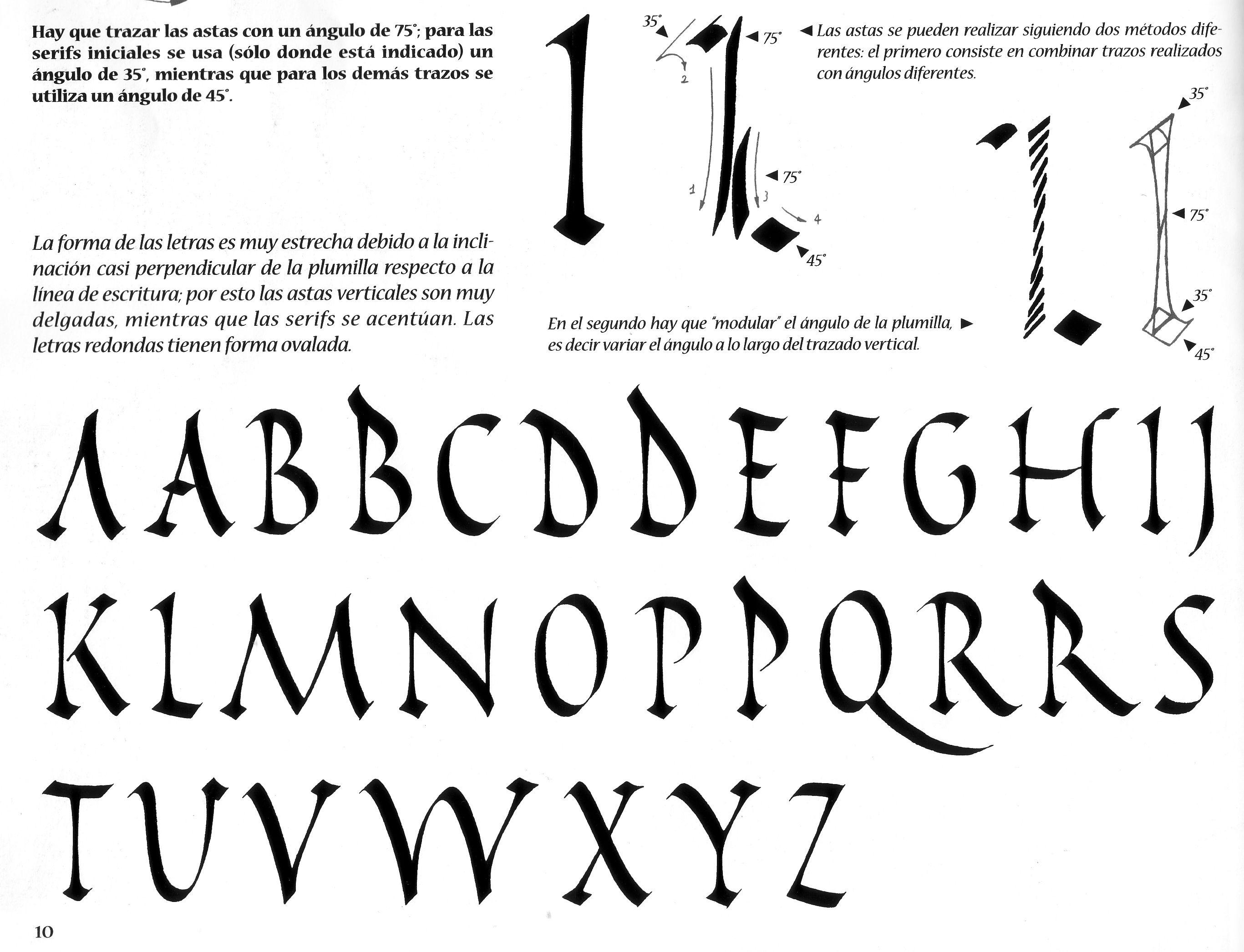 m dulo de tipografia calligraphy calligraphy tutorial