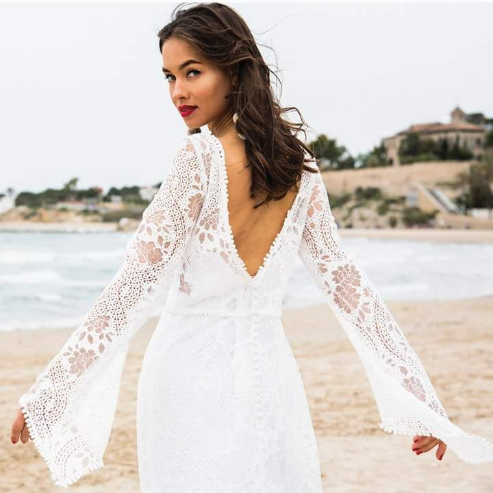 60+ Chic Boho Wedding Dresses for a Perfect Gypsy-Style Wedding ...