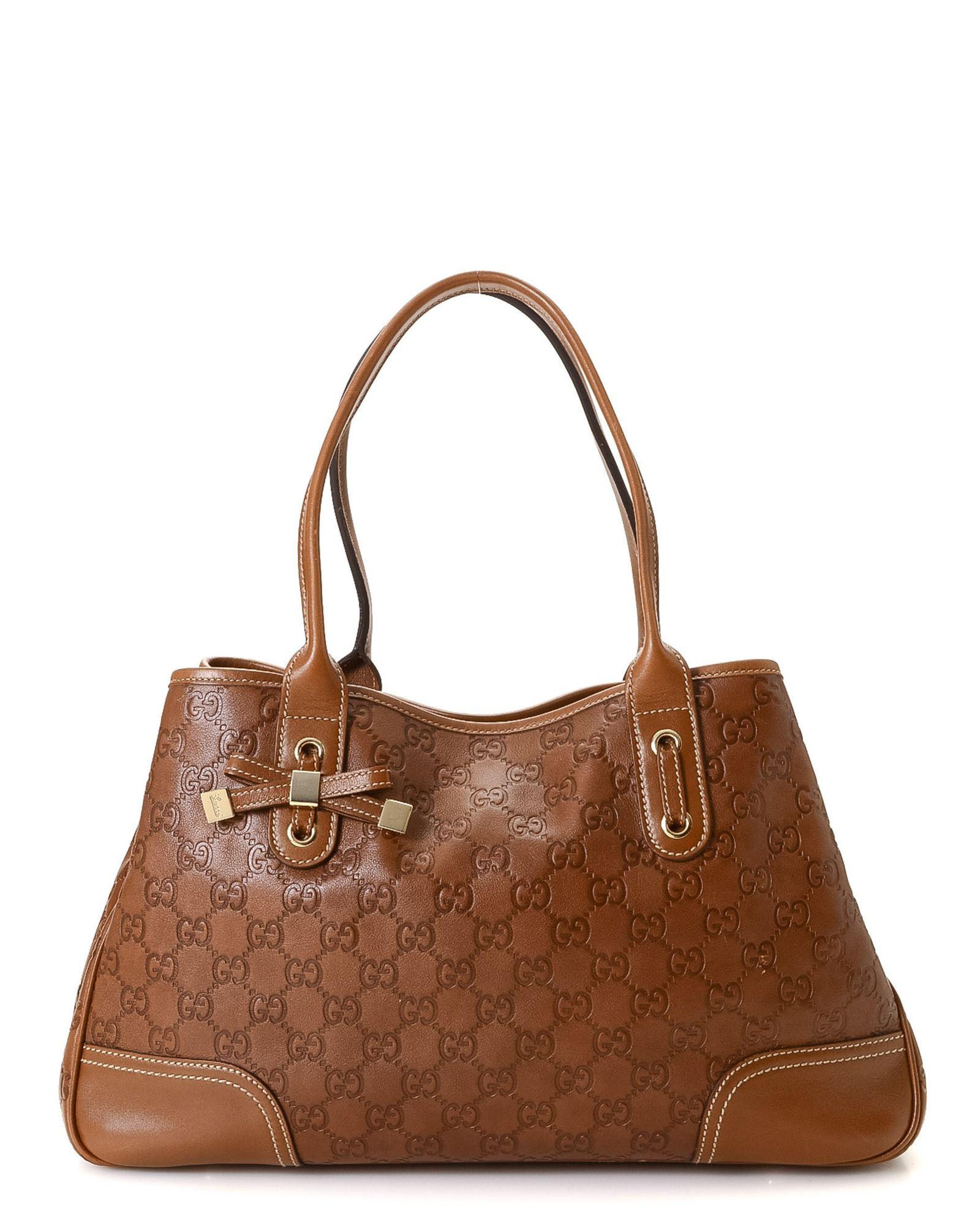 c47ca9f3e2248c Gucci Guccissima Princy Shoulder Bag - Vintage | *Century 21 Stores ...