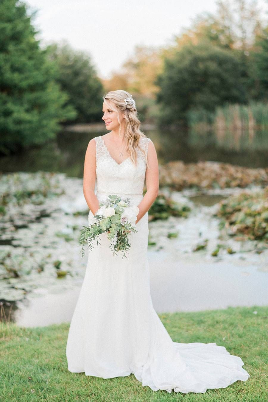 Ross wedding dress  An Elegant Rustic Wedding with Pastel Grey u Hessian Details Holly