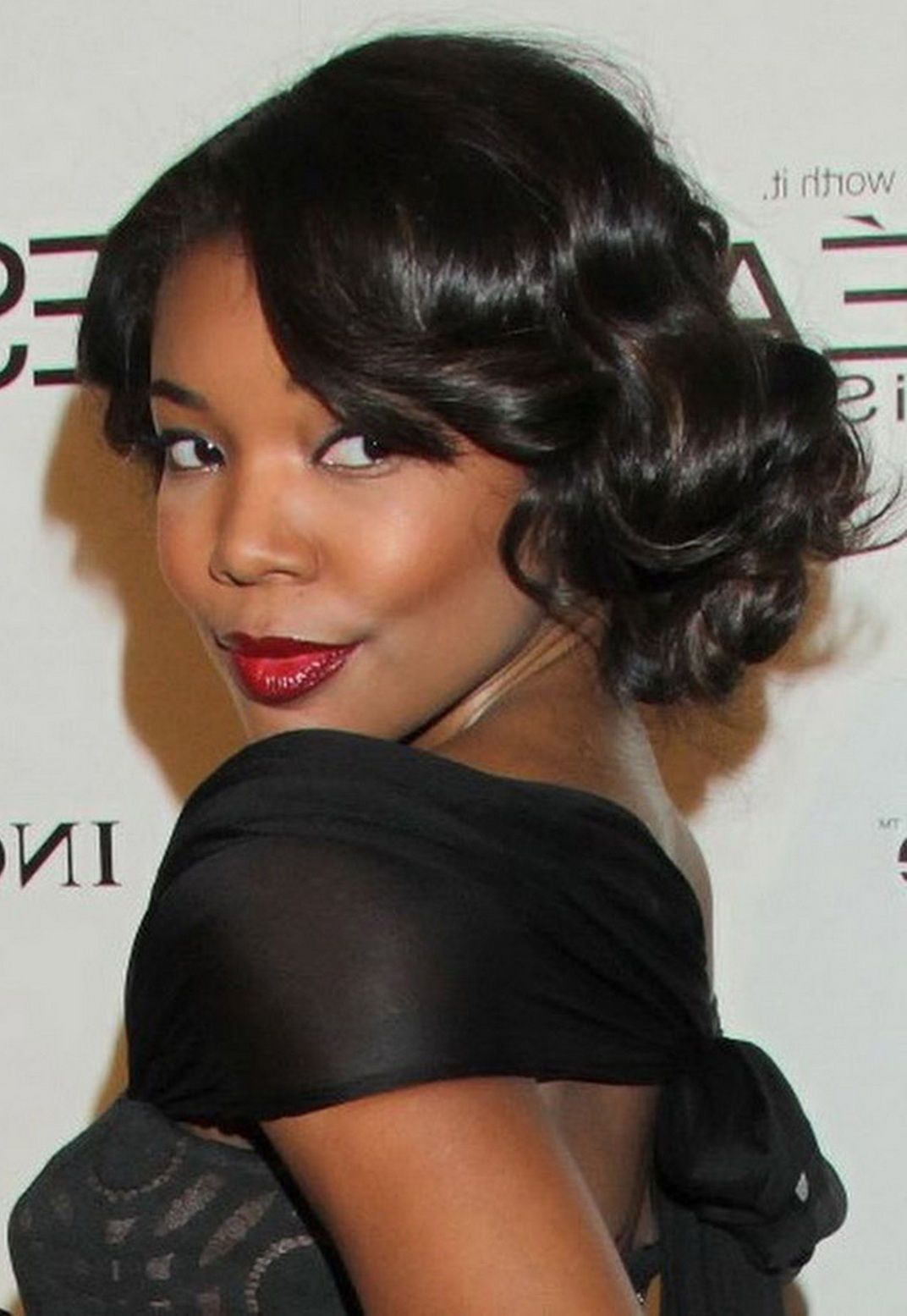 African American Updo Hairstyles Black Updo Hairstyle  Hair  Pinterest  Updo Prom Hair And Curly